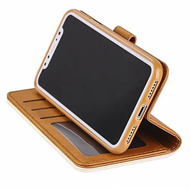 Θήκη Za Apple iPhone XS / iPhone XR / iPhone XS Max Novčanik / Utor za kartice / Otporno na trešnju Korice Jednobojni Tvrdo PU koža