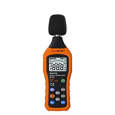 merač buke pm6708 lcd digitalni audio decibel mjerač buke db metar mjerni mjerač 30 db do 130 db