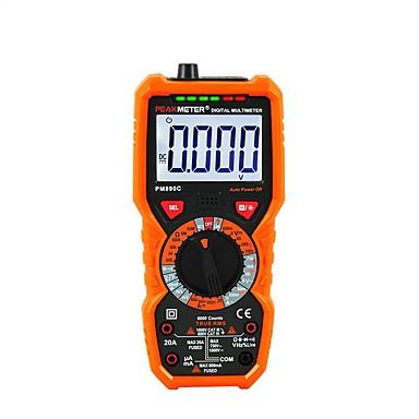 digitalni multimetar peakmeter pm18c istinski rms ac / dc naponska otpornost mjerač kapaciteta frekvencija temperatura ncv tester