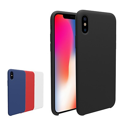 Θήκη Za Apple iPhone X / iPhone 8 Plus / iPhone 8 Mutno Stražnja maska Jednobojni Mekano TPU