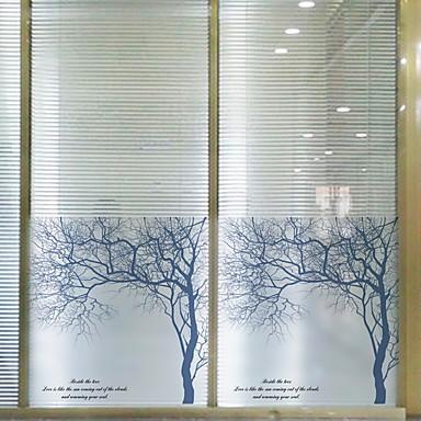 فيلم نافذة وملصقات زخرفة معاصر شخصية PVC ملصق النافذة