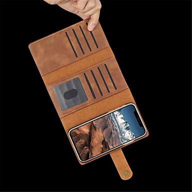 Θήκη Za Apple iPhone XR / iPhone XS Max Utor za kartice / Otporno na trešnju / Zaokret Korice Jednobojni Tvrdo PU koža za iPhone XS / iPhone XR / iPhone XS Max