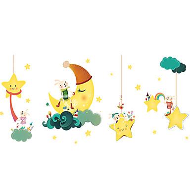 Dekorativne zidne naljepnice - Zidne naljepnice / Naljepnice za zidne zidove Životinje / Zvijezde Stambeni prostor / Dječja soba