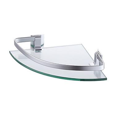 Kupaonska polica New Design / Cool / Multifunkcionalni Moderna staklo / Aluminijum 1pc Zidne slavine