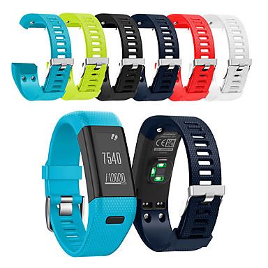 ราคาถูก อุปกรณ์เสริมโทรศัพท์มือถือ-สายนาฬิกา สำหรับ Vivosmart HR+(Plus) Garmin สายยางสำหรับเส้นกีฬา ยางทำจากซิลิคอน สายห้อยข้อมือ