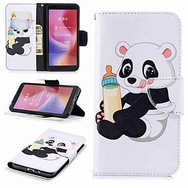 Θήκη Za Xiaomi Redmi Note 5A / Xiaomi Redmi Note 5 Pro / Xiaomi Redmi Note 4X Novčanik / Utor za kartice / sa stalkom Korice Panda Tvrdo PU koža