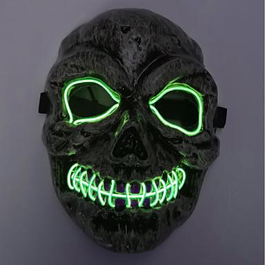 brelong halloween horror duh duh lubanje hladno svjetlo užaren maska 1 kom