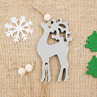 Odmor dekoracije Božićni ukrasi Božićni ukrasi / Dekorativni objekti Ukrasno / Cool Sive boje / Crvena 1pc