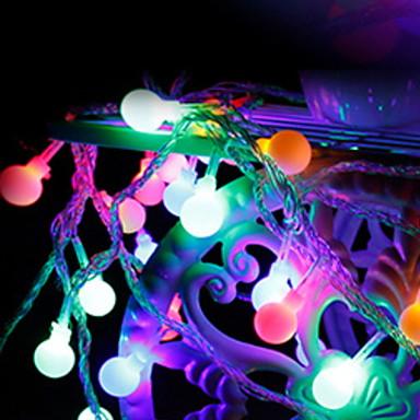 10m Žice sa svjetlima 100 LED diode Više boja Ukrasno / Divan 220-240 V 1set