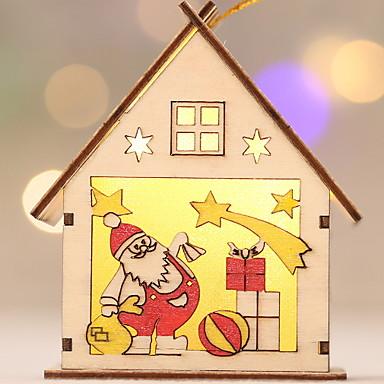 Ukrasna svjetla / Božićni ukrasi Predbožićna drven Noviteti Božićni ukras