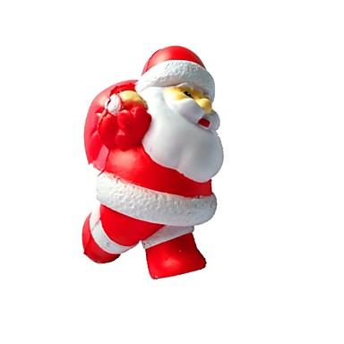 Igračke za stiskanje Antistresne igračke Kostimi Djeda Mraza Slatko Fokus igračka Uredske stolne igračke PORON guma 1 pcs Djeca Odrasli Sve Igračke za kućne ljubimce Poklon