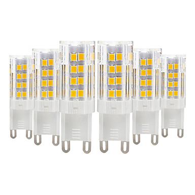 YWXLIGHT® 6kom 4 W LED svjetla s dvije iglice 300-400 lm E14 G9 G4 T 51 LED zrnca SMD 2835 Toplo bijelo Hladno bijelo 220-240 V