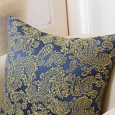 1 kom Pamuk / Posteljina Navlaka za jastuk, Geometrijski oblici Europska Style