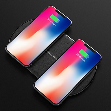 nillkin 10w / 7.5w dual punjenje brzo bežični punjač za iphone xs iphone xr xsmax iphone 8 samsung s9 plus s8 note 8 ili ugrađeni Qi prijemnik pametni telefon