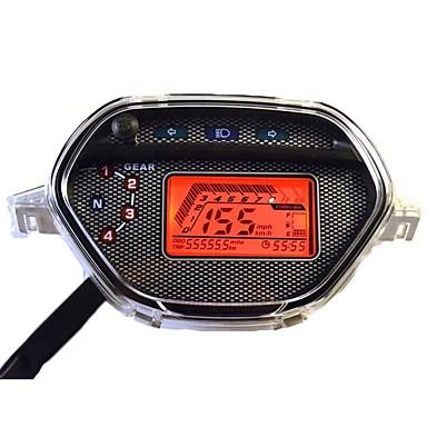 CB-0101 Motor Odometer / Mjerač tlaka ulja / Brzinomjer za Motori Sve godine mjerilo Otporno na nošenje / brzinomjer / Zaštita od sunca