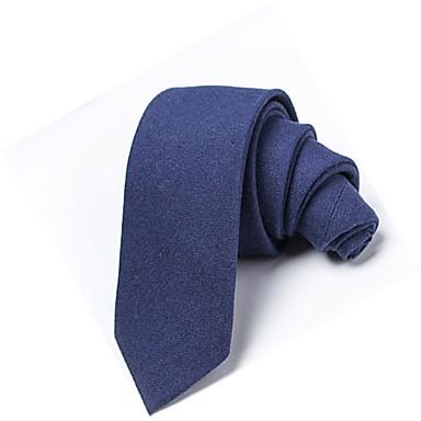 ربطة العنق لون سادة للجنسين أساسي