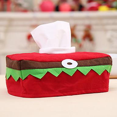 Kutije za ukrase Predbožićna Tkanina Pravokutno Noviteti Božićni ukras