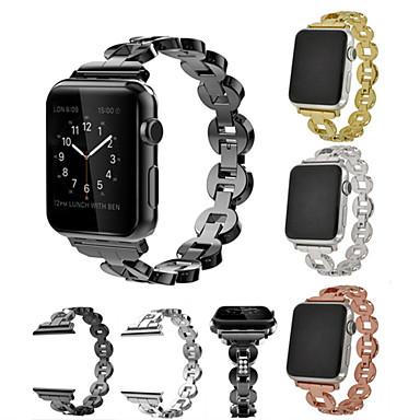 حزام إلى أبل ووتش سلسلة 5/4/3/2/1 Apple عصابة الرياضة / تصميم المجوهرات ستانلس ستيل / خزفي شريط المعصم
