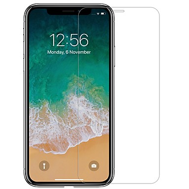 voordelige iPhone screenprotectors-nillkin schermbeschermer voor apple iphone xr gehard glas 1 stuk voorschermbeschermer high definition (hd) / 9h hardheid / explosiebestendig