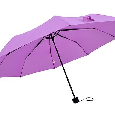 قماش / ستانلس ستيل الجميع مشمس وممطر / تصميم جديد مظلة ملطية