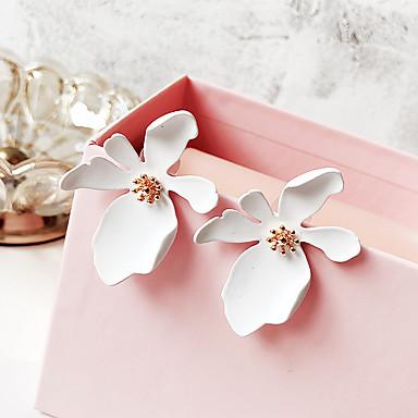 Žene Sitne naušnice Klasičan Cvijet dame Jednostavan slatko Moda Naušnice Jewelry Zelen / Plava / Pink Za Kauzalni Dnevno 1 par
