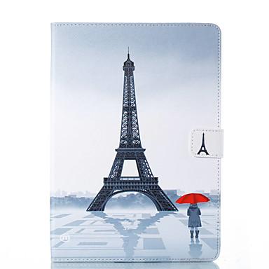 Θήκη Za Apple iPad Mini 5 / iPad New Air (2019) / iPad Air Utor za kartice / sa stalkom / Zaokret Korice Krajolik / Eiffelov toranj Tvrdo PU koža / iPad Pro 10.5 / iPad 9.7 (2017)
