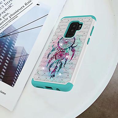 Θήκη Za Samsung Galaxy S9 Plus / S9 Otporno na trešnju / Štras / Uzorak Stražnja maska Hvatač snova Tvrdo PC za S9 / S9 Plus / S8 Plus