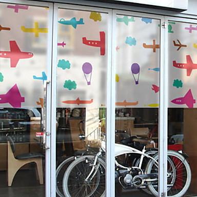 فيلم نافذة وملصقات زخرفة معاصر / العادي شخصية PVC ملصق النافذة / محبوب