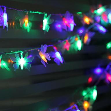 5m Žice sa svjetlima 40 LED diode Više boja Ukrasno / Divan 220-240 V 1set