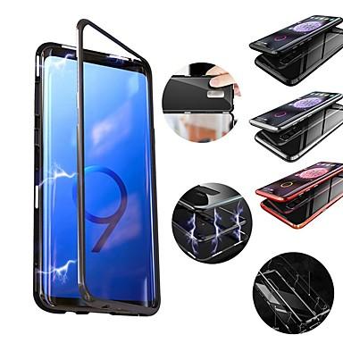 Θήκη Za Samsung Galaxy S9 / S9 Plus / S8 Plus Otporno na trešnju / S magnetom Stražnja maska Jednobojni Tvrdo Metal