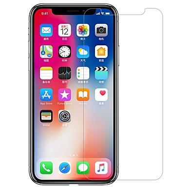 voordelige iPhone screenprotectors-nillkin screen protector voor apple iphone xs gehard glas / pet 1 pc voorkant& rugbeschermer high definition (hd) / 9h hardheid / explosiebestendig