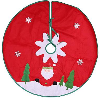 Ukrasi Predbožićna Tkanina Krug Noviteti Božićni ukras