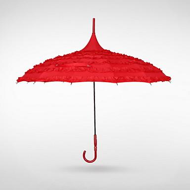 Нержавеющая сталь Все Солнечный и дождливой / обожаемый Зонт-трость