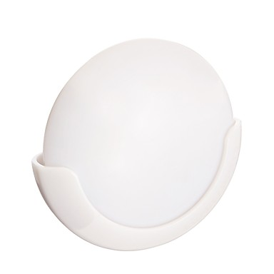 BRELONG® 2pcs LED noćno svjetlo Bijela AA baterije su pogonjene LED svjetla aktivirana zvukom / S USB priključkom / kredenac 5 V