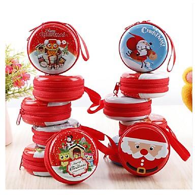 クリスマスの新年の小売バッグペンダントの装飾クリスマスツリーヘッドフォン収納袋キャンディボックスランダム