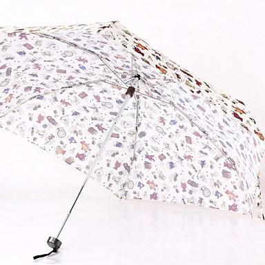 قماش / ستانلس ستيل الجميع مشمس وممطر مظلة ملطية