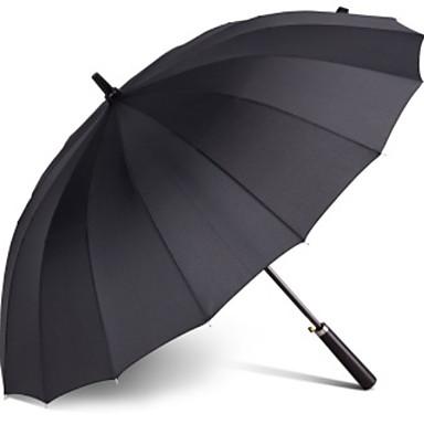 بلاستيك / ستانلس ستيل رجالي مشمس وممطر مظلة مستقيمة