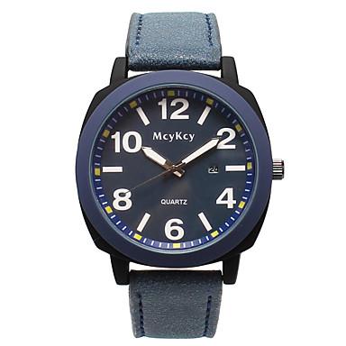Žene Ručni satovi s mehanizmom za navijanje Kvarc Umjetna koža Crna / Plava / Smeđa Casual sat Analog Moda Minimalistički - Crn Dark Blue Braon