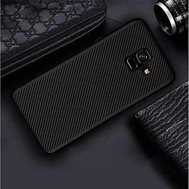 Θήκη Za Samsung Galaxy A6 (2018) / A6+ (2018) / A3 (2017) Ultra tanko / Mutno Stražnja maska Jednobojni Mekano Carbon Fiber