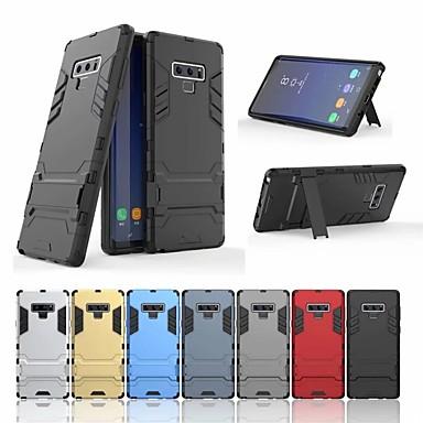 غطاء من أجل Samsung Galaxy Note 9 / Note 8 / Note 5 ضد الصدمات / مع حامل غطاء خلفي درع قاسي الكمبيوتر الشخصي