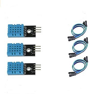 ieftine Senzori-Modul senzor de temperatură și umiditate dht11 3pcs pentru ardeino zmeură pi 2 3