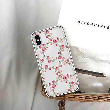 Θήκη Za Apple iPhone XS / iPhone XR / iPhone XS Max Uzorak Stražnja maska Cvijet Mekano TPU