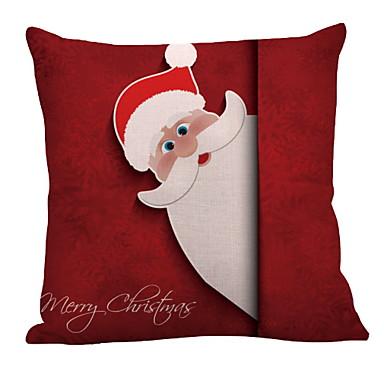 غطاء وسادة عيد الميلاد المجيد / عطلة البوليستر مستطيل حزب / حداثة زينة عيد الميلاد