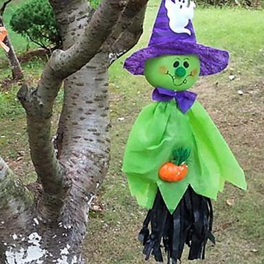 Odmor dekoracije Halloween Dekoracije Halloween Zabavni / Dekorativni objekti Ukrasno / Cool Obala / žuta / Zelen 1pc