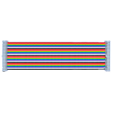 olcso Alaplapok-gpio színes 40p kábel 20cm málna pi b