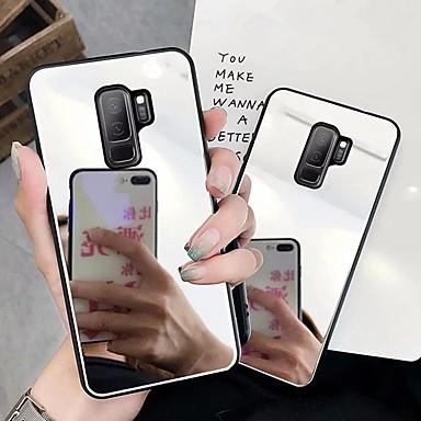 Θήκη Za Samsung Galaxy S9 Plus / S9 Zrcalo Stražnja maska Jednobojni Tvrdo PC za S9 / S9 Plus / S8 Plus
