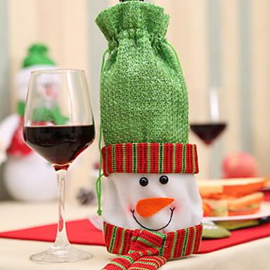 Vrećice i postolja za vino Predbožićna / Odmor Netkano Cube Party / Noviteti Božićni ukras