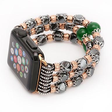 حزام إلى أبل ووتش سلسلة 5/4/3/2/1 Apple تصميم المجوهرات خزفي شريط المعصم