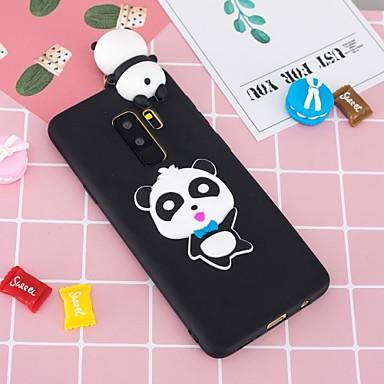 voordelige Galaxy S-serie hoesjes / covers-hoesje Voor Samsung Galaxy S9 / S9 Plus / S8 Plus Patroon / DHZ Achterkant Panda Zacht TPU