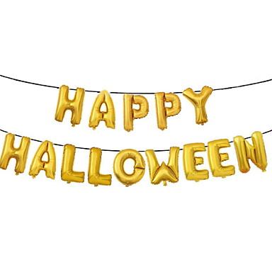 Odmor dekoracije Halloween Dekoracije Halloween Zabavni / Dekorativni objekti Ukrasno / Cool Zlato 1pc